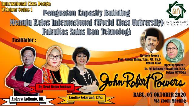 Terobosan Baru Menuju Kelas Internasional Fakultas Saintek Gandeng John Robert Powers Duta Co Berita Harian Terkini