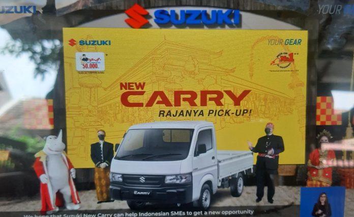 Ekonomi Mulai Bangkit, Suzuki Luncurkan New Carry Pick Up