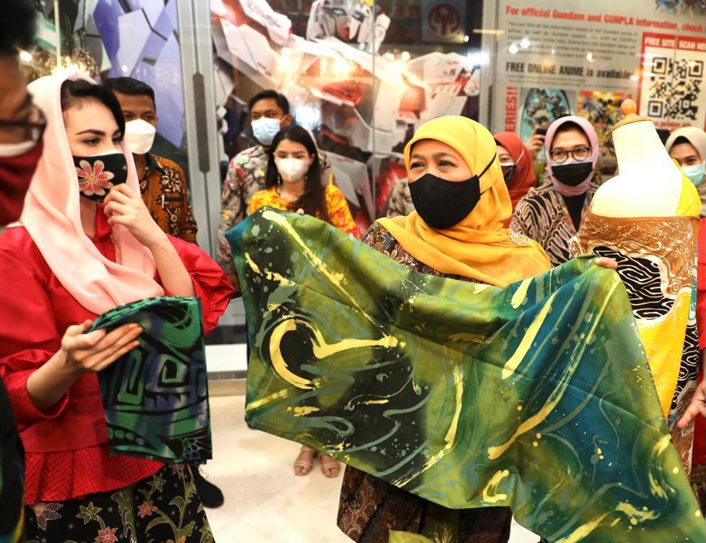 Pandemi, Dekranasda Gelar Pameran Batik Terbesar di ...